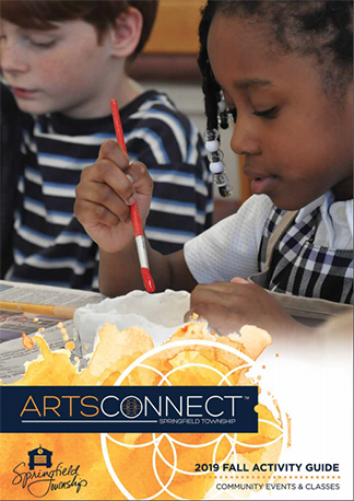 ArtsConnect Fall Guide Cover